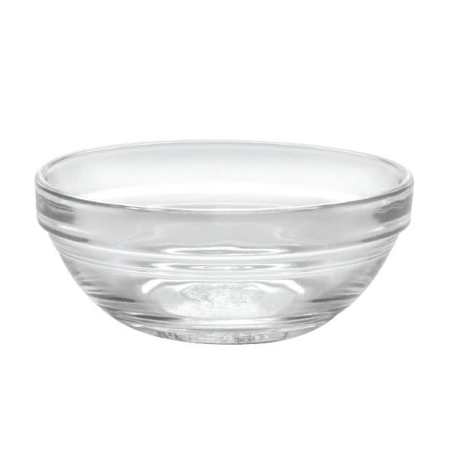 Duralex 2021AC04/8 (8) 2 oz Stackable Clear Bowl - Tempered Glass