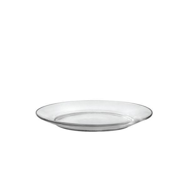 "Duralex 3008AF06 7.5"" Lys Glass Dessert Plate"