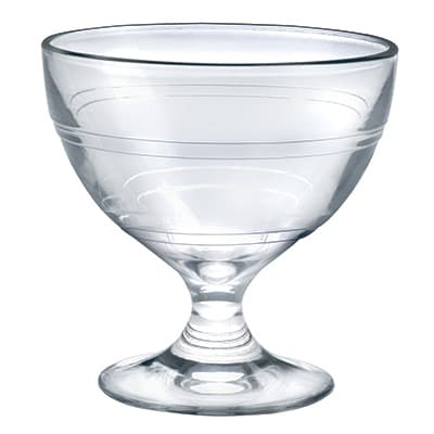 Duralex 5002AB06A 8.75 oz Gigogne Glass Ice Cream Cup