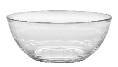 Duralex 510870M93 6-3/4 in Lys Mixing Bowl, Clear