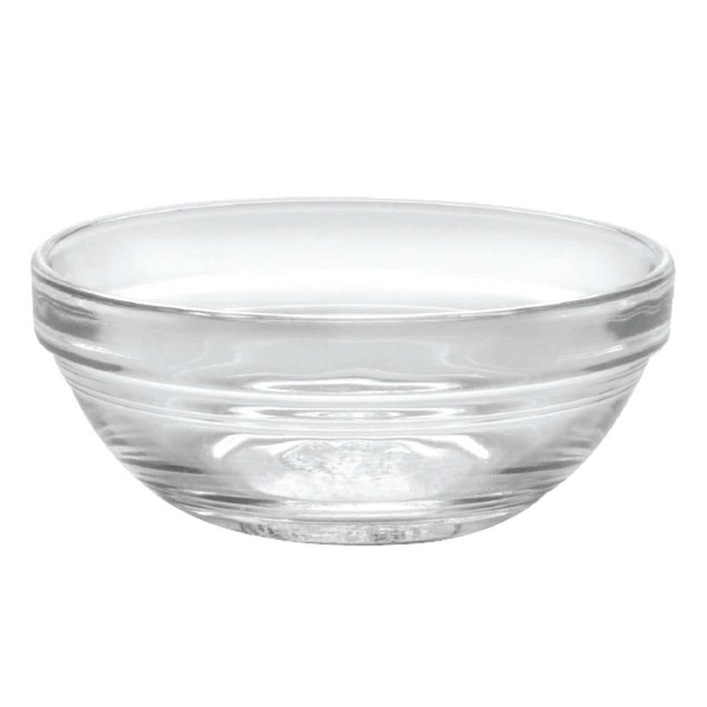 "Duralex 511720M98 3-1/2""Lys Mixing Bowl w/ Stackable Rim, Clear"
