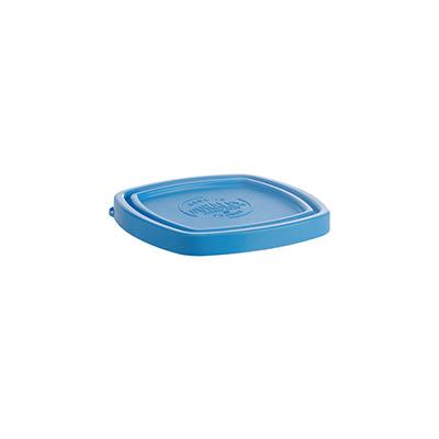 """Duralex CLC09B1 Blue Lid for 3-1/2"""" Square Bowl"""