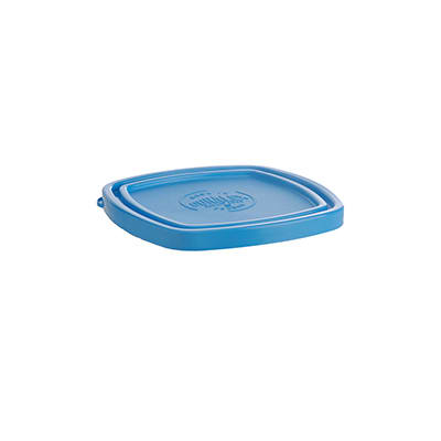 "Duralex CLC11B1 Blue Lid for 4 3/8"" Square Bowl"