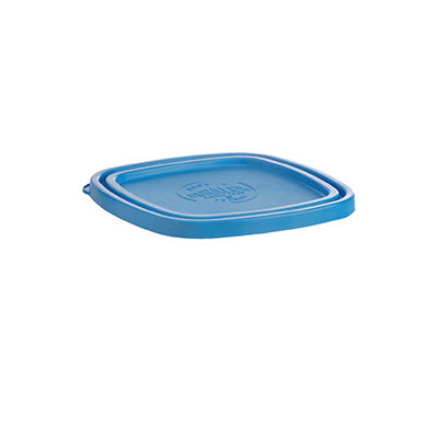 "Duralex CLC14B1 Blue Lid for 5-1/2"" Square Bowl"