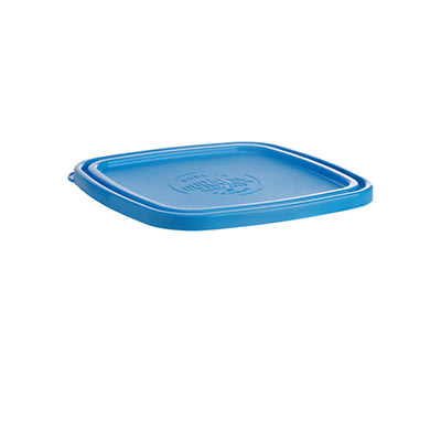 "Duralex CLC17B1 Blue Lid for 6 3/4"" Square Bowl"