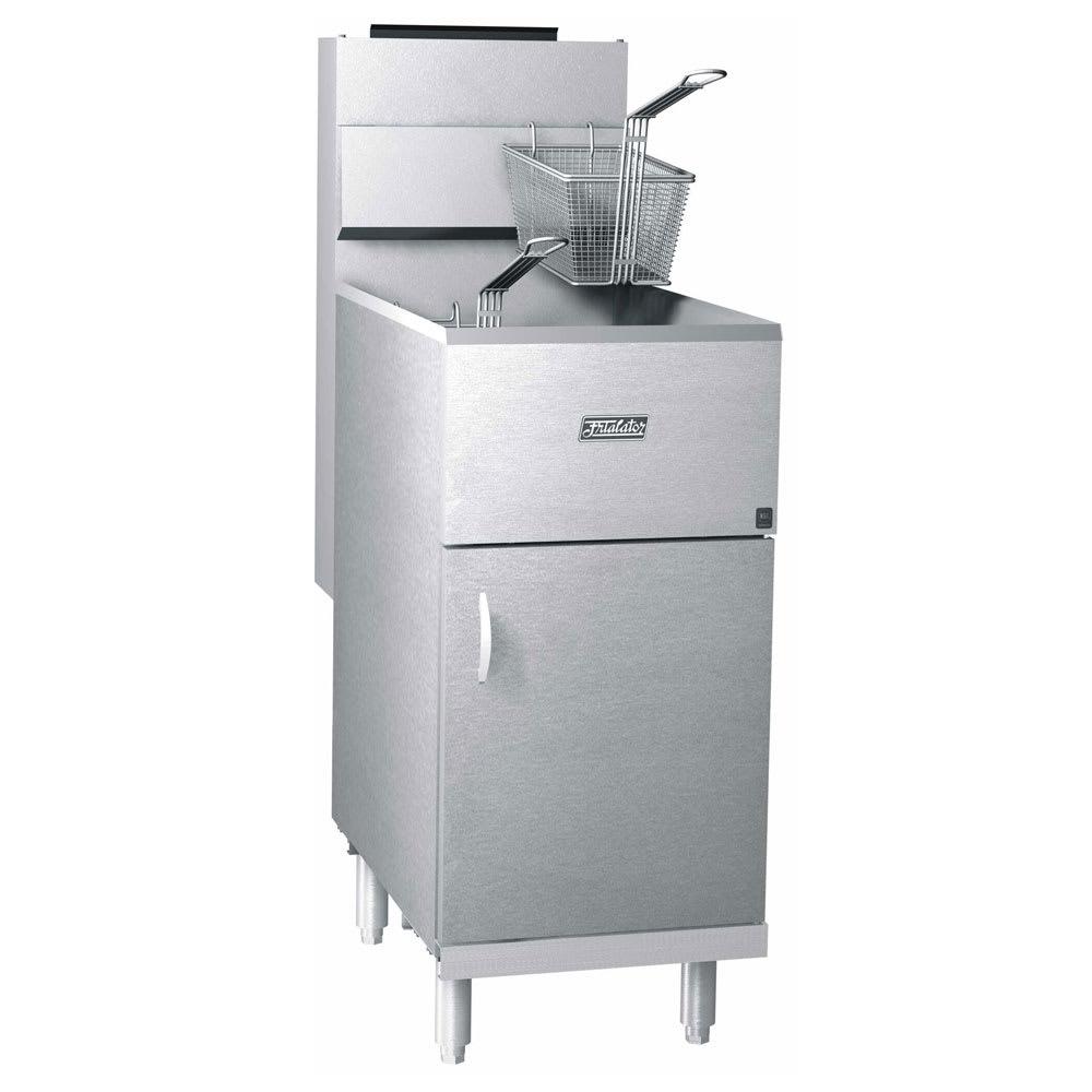 Pitco 40S Frialator Gas Fryer - (1) 45-lb Vat, Floor Model, LP