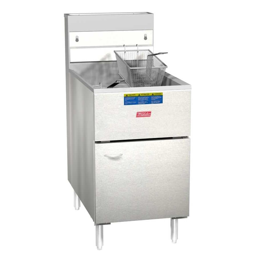Pitco 65S Frialator Gas Fryer - (1) 80-lb Vat, Floor Model, NG