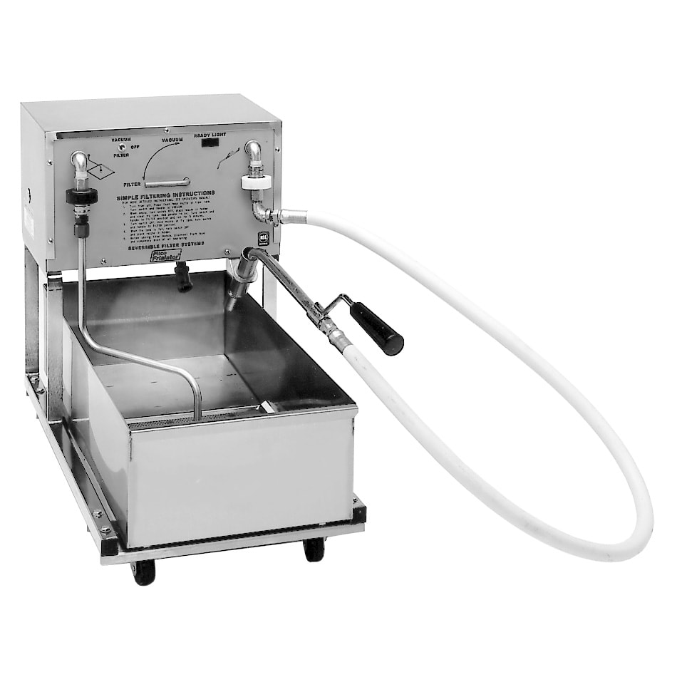Pitco RP18 75-lb Commercial Fryer Filter - Suction, 120v