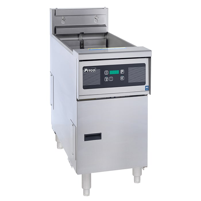 Pitco SE14 Electric Fryer - (1) 50 lb Vat, Floor Model, 208v/3ph