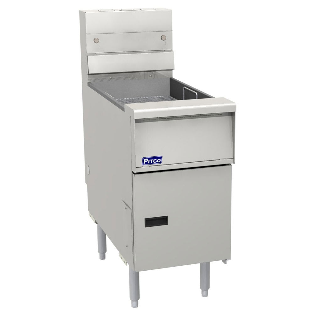 "Pitco SE-BNB-SE18S Bread & Batter Cabinet, 19-5/8""W for SE18 Electric Fryer"