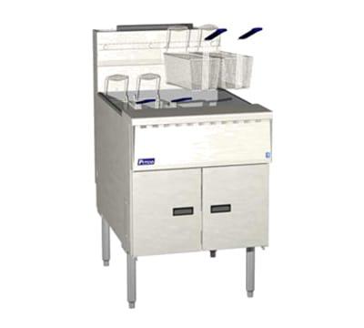 Pitco SGM24-SSTC Gas Fryer - (1) 150-lb Vat, Floor Model, LP