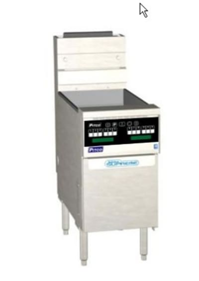 Pitco SSH75-SSTC-S Gas Fryer - (1) 75-lb Vat, Floor Model, LP