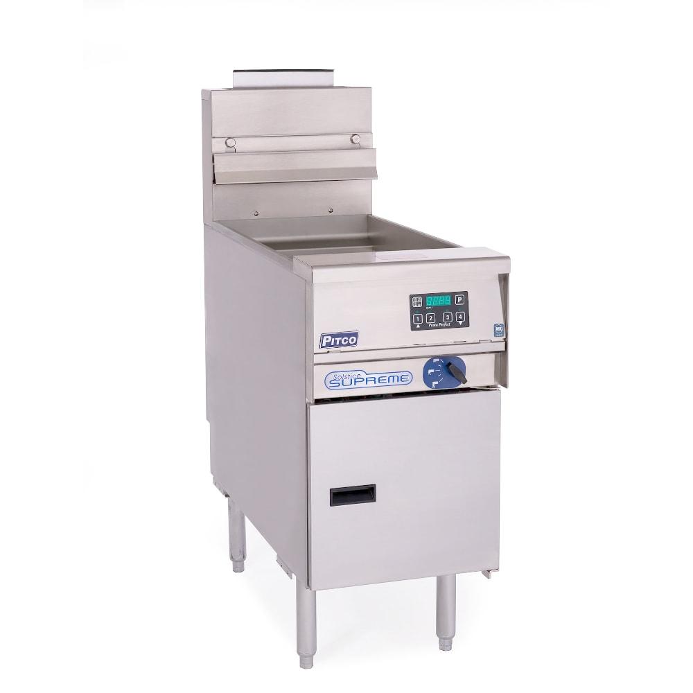 Pitco SSPE14 2203 12-gal Pasta Cooker, 4-Button Digital, Self-Clean Burner, 220/3V, Export