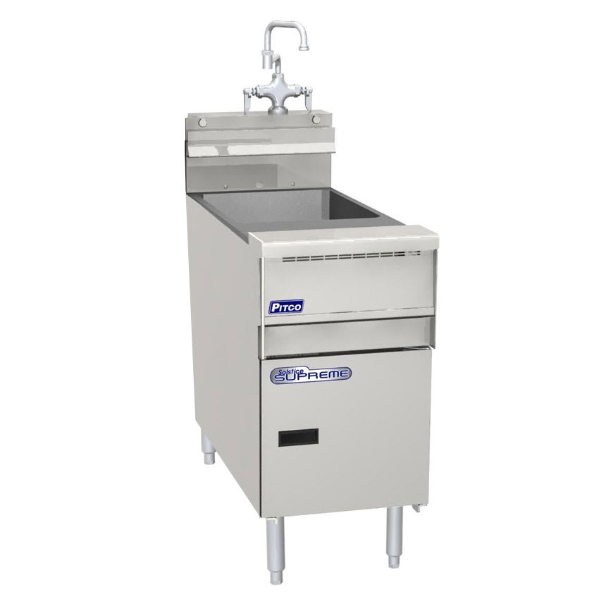 Pitco SSRS14 Gas Rinse Station w/ Faucet