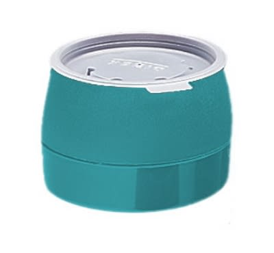 Dinex DX110515 5-oz Classic Insulated Ware Stackable Bowl, Teal