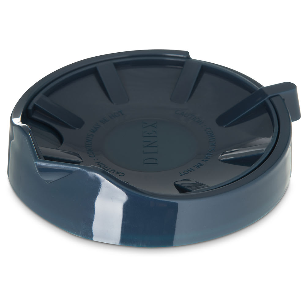 Dinex DX1156-50 Beverage Server Replacement Lid, Snap On, Insulated, Midnight Blue