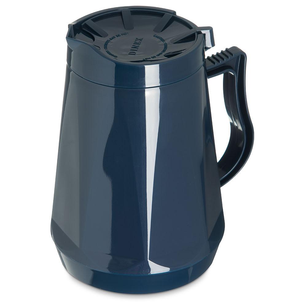 Dinex DX1160-50 Insulated Beverage Server w/ Snap on Lid, 1-Liter, Midnight Blue