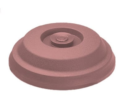 "Dinex DX117356 Low Profile Insul-Dome for 9"" Plates - Mauve"