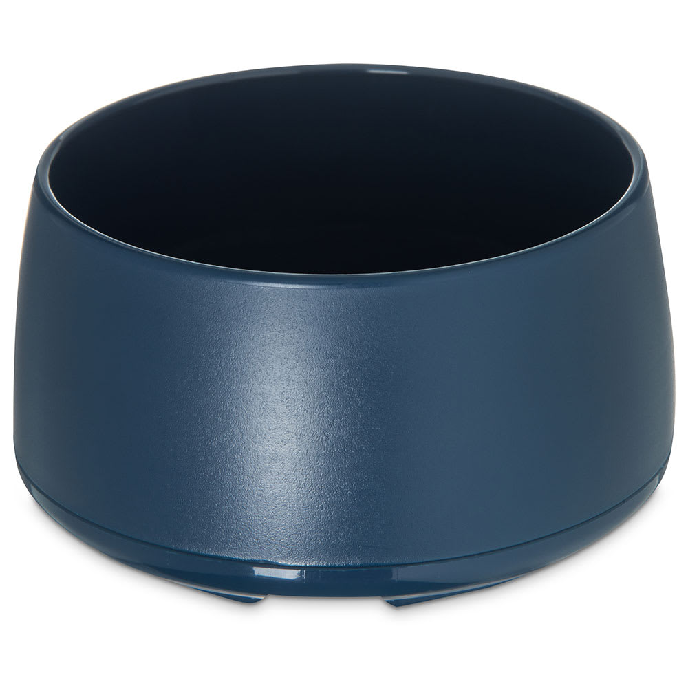 Dinex DX118550 9 oz Classic Insulated Ware Stackable Bowl, Midnight Blue