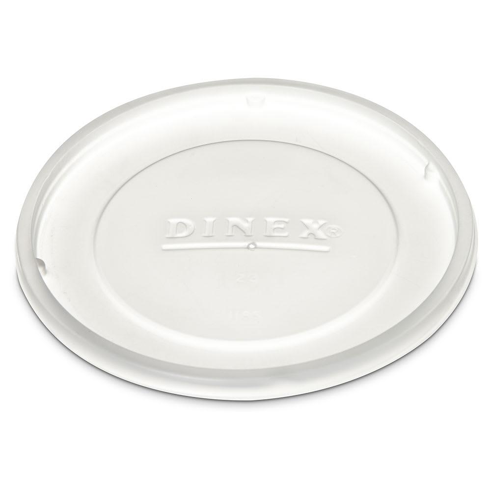 Dinex DX11858714 Disposable Lid for 1185 9 oz Bowl, Translucent