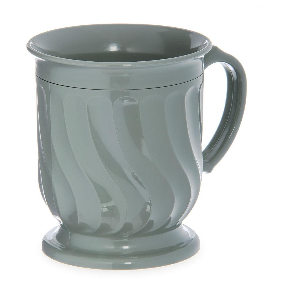Dinex DX300084 8-oz Turnbury Insulated Pedestal Base Cup, Sage