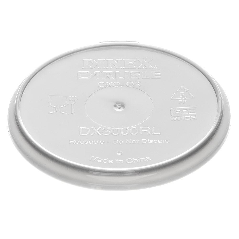 Dinex DX3000RL Reusable Flat Lid for Turnbury Mugs & 5-oz Bowls
