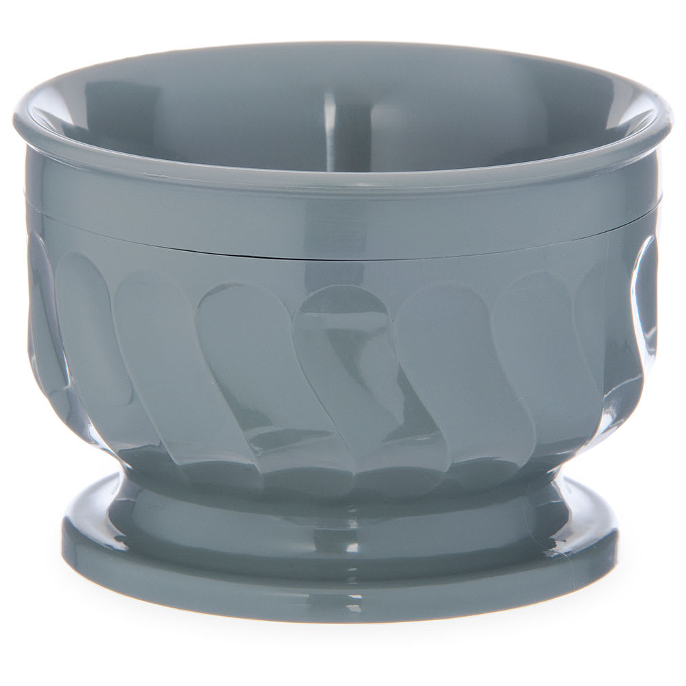 Dinex DX320084 5 oz Insulated Pedestal Base Bowl For Turnbury, Sage