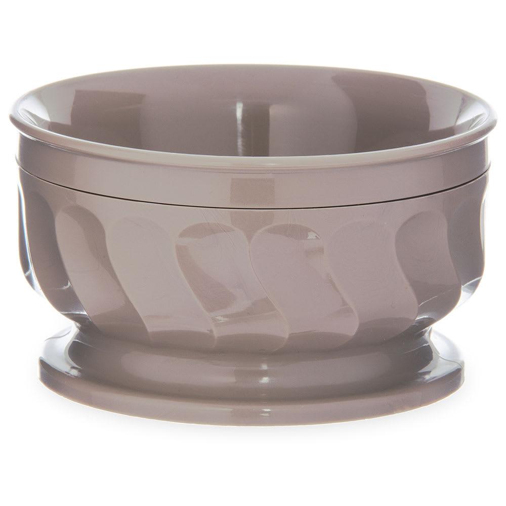 Dinex DX330031 9 oz Insulated Pedestal Base Bowl For Turnbury, Latte