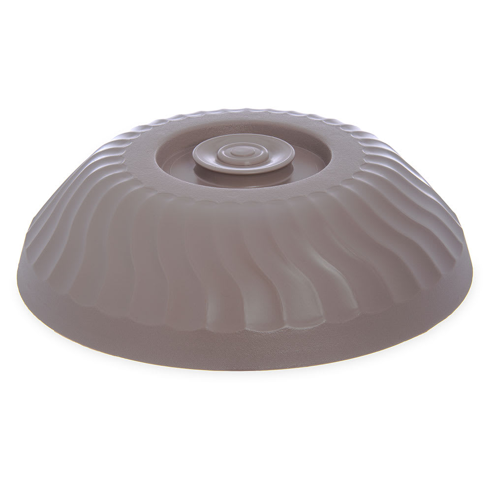 "Dinex DX340031 Turnbury Insulated Dome for 9"" Plates - Latte"
