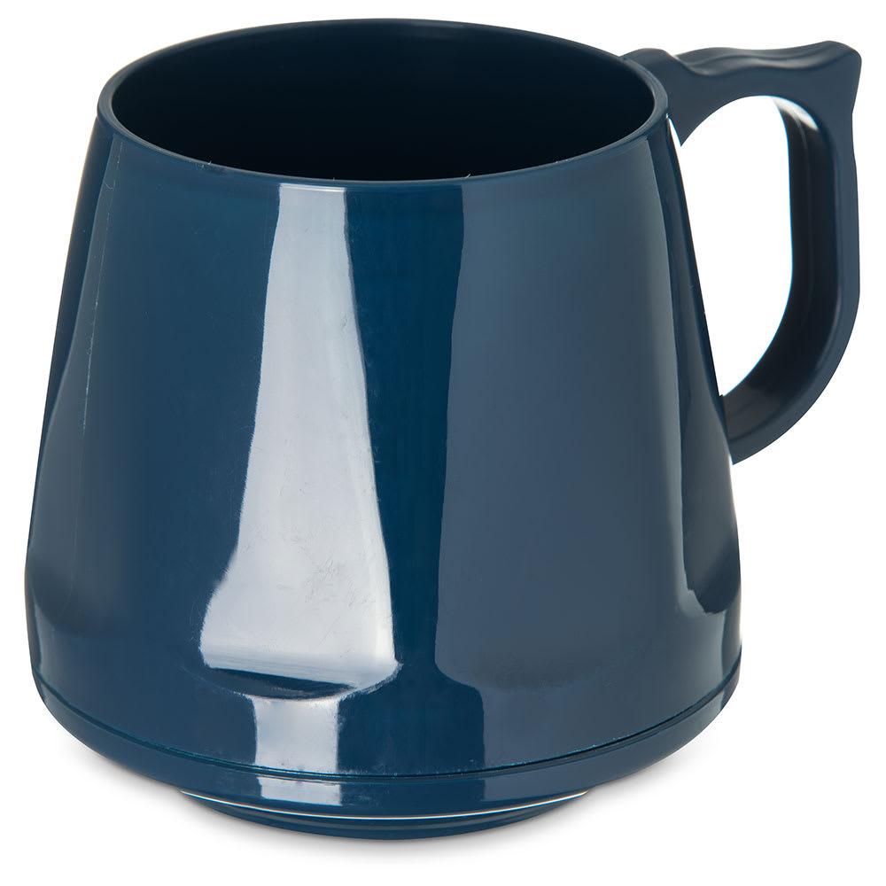 Dinex DX400050 8 oz Heritage Insulated Stackable Mug, Midnight Blue