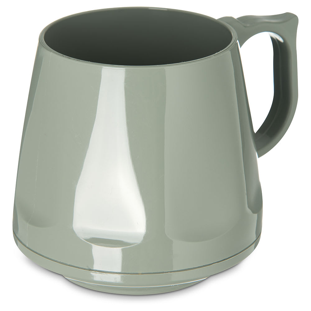 Dinex DX400084 8-oz Heritage Insulated Stackable Mug, Sage