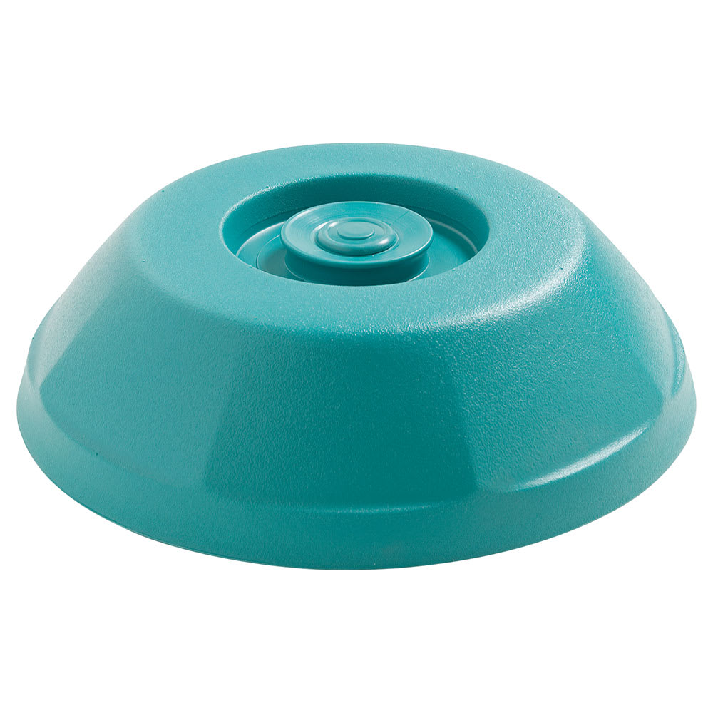 "Dinex DX440015 Heritage Insulated Dome for 9"" Plates - Teal"