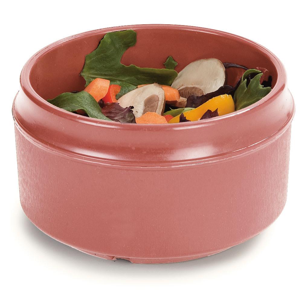 Dinex DX4B56 8-oz Tradition Insulated Reusable Soup Bowl, Mauve