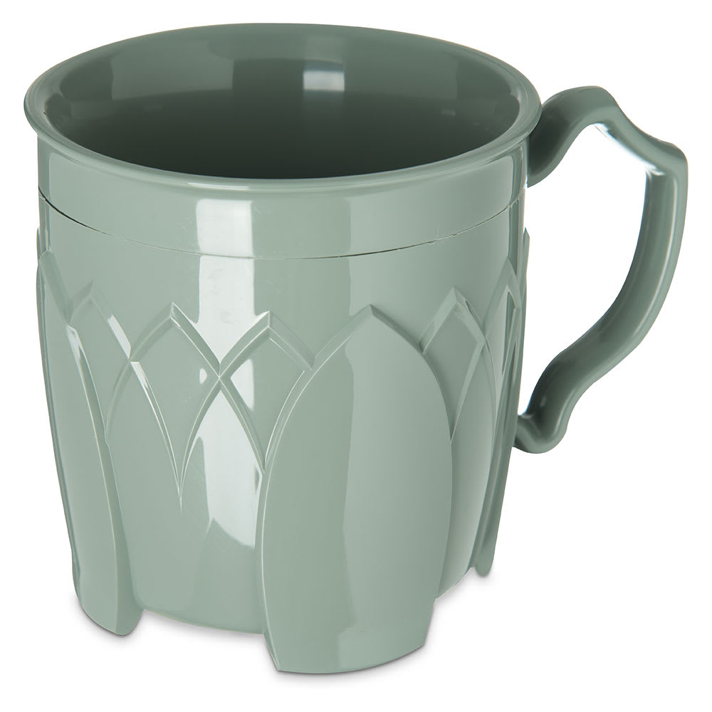 Dinex DX5000-84 Insulated 8 oz Mug w/ Sculpture Design, Sage