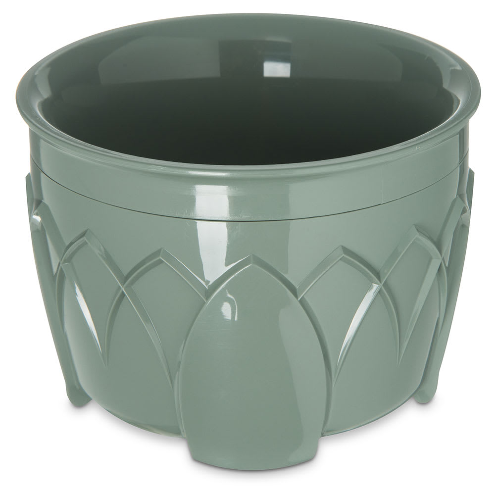 Dinex DX5200-84 Insulated 5 oz Bowl w/ Sculpture Design, Sage