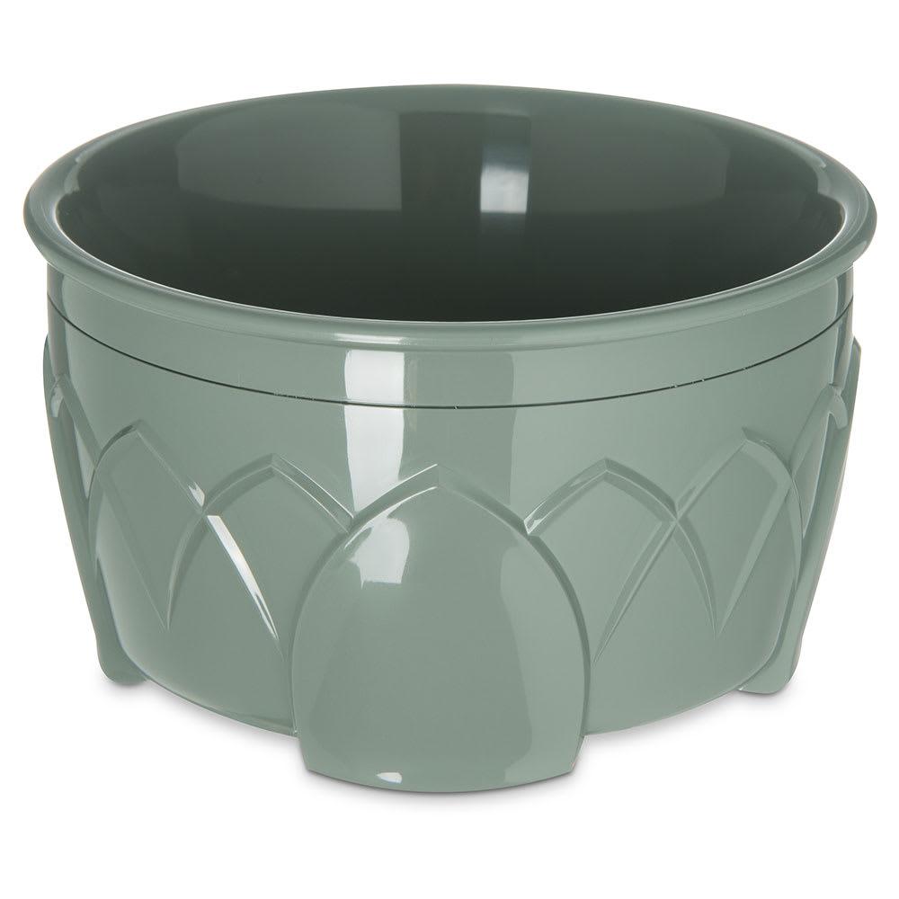 Dinex DX5300-84 Insulated 9 oz Bowl w/ Sculpture Design, Sage