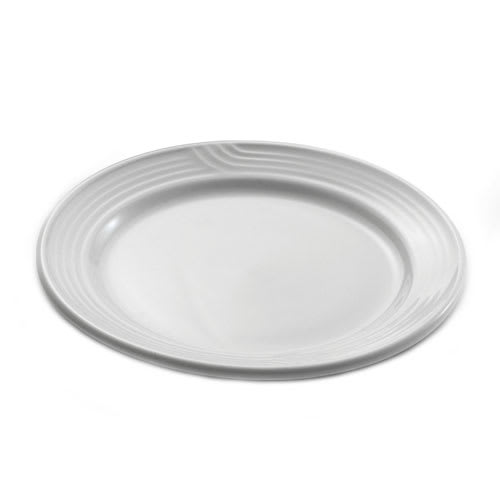 "Dinex DX5CBPB02 5.5"" Embossed Bread & Butter Plate, Ivory"