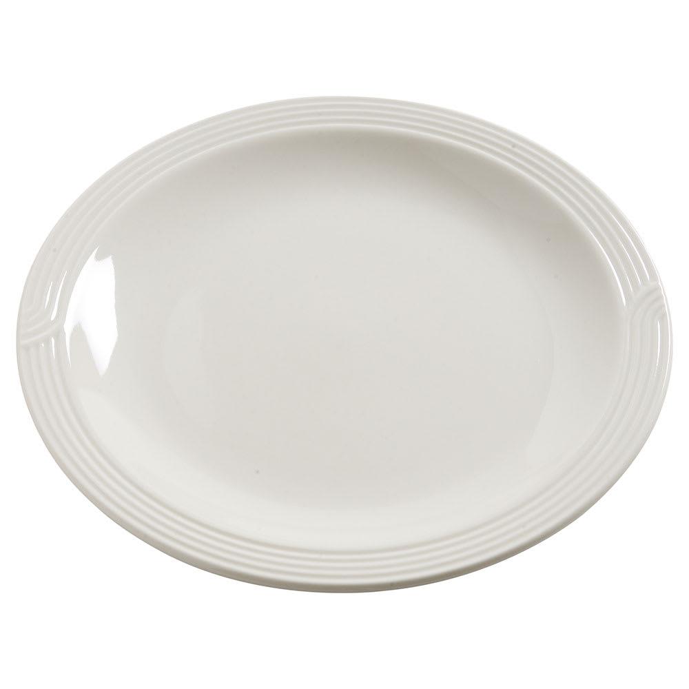 "Dinex DX7CE02 7.75"" Entree Plate, White"