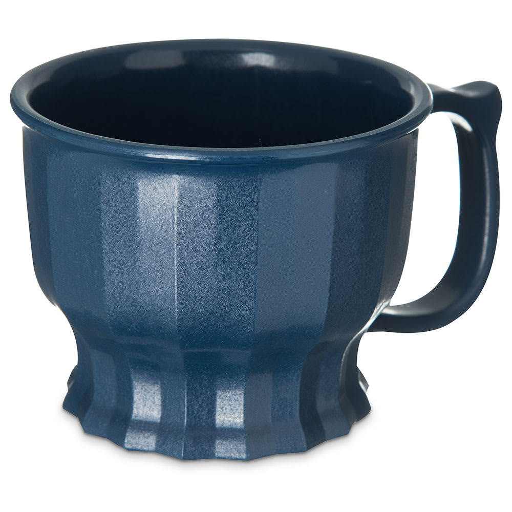 Dinex DX9000B50 8 oz Tropez Convection Thermalization Cup w/ High Heat Resin, Midnight Blue
