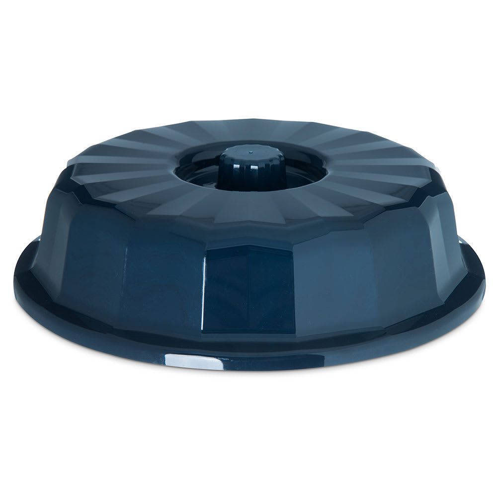 "Dinex DX9407B50 7"" Tropez Convection Entree Dome w/ High Heat Resin, Midnight Blue"