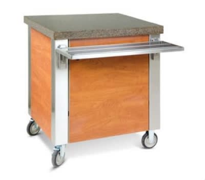 Dinex DXDCR90 Corner Cabinet w/ 90 degree, Stainless Top, Front & End Panels