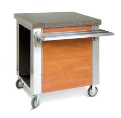 "Dinex DXDCS 30"" Cashier Stand w/ Stainless Top, Front & End Panels"