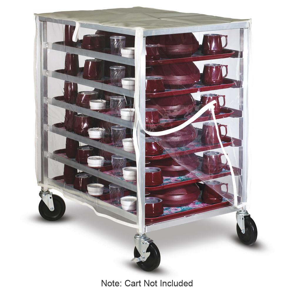 Dinex DXDHOR20U 20-Tray Cabinet Room Service Cart, Aluminum