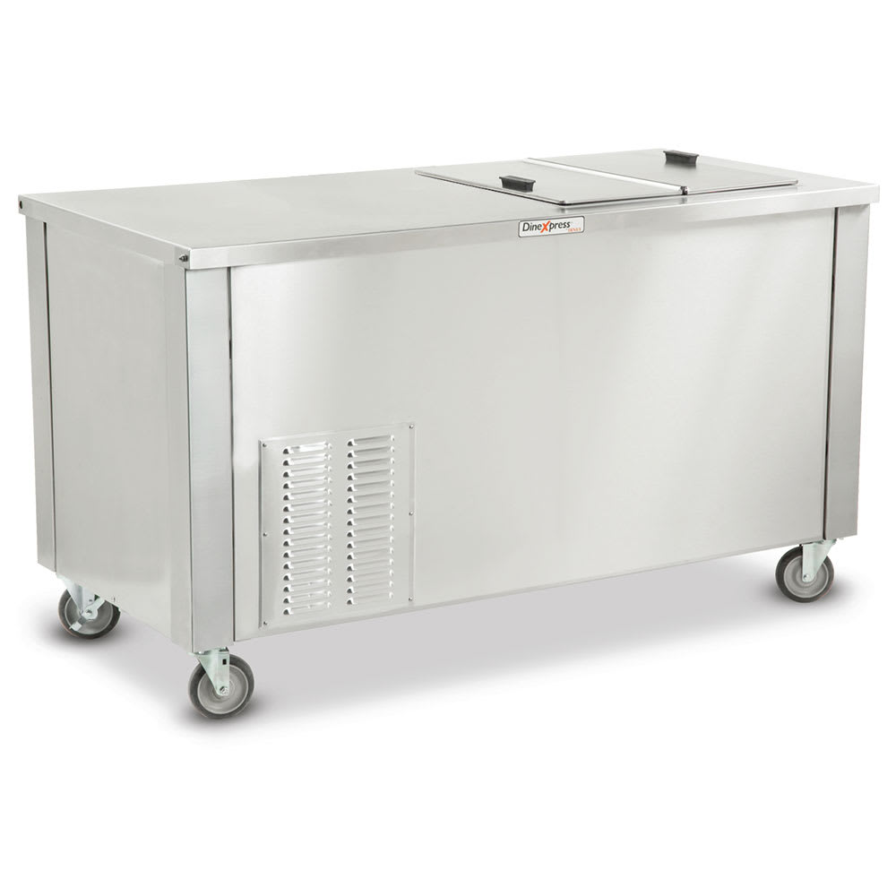 "Dinex DXDICF 36"" Mobile Ice Cream Freezer w/ 780 Cup Capacity, 120v"