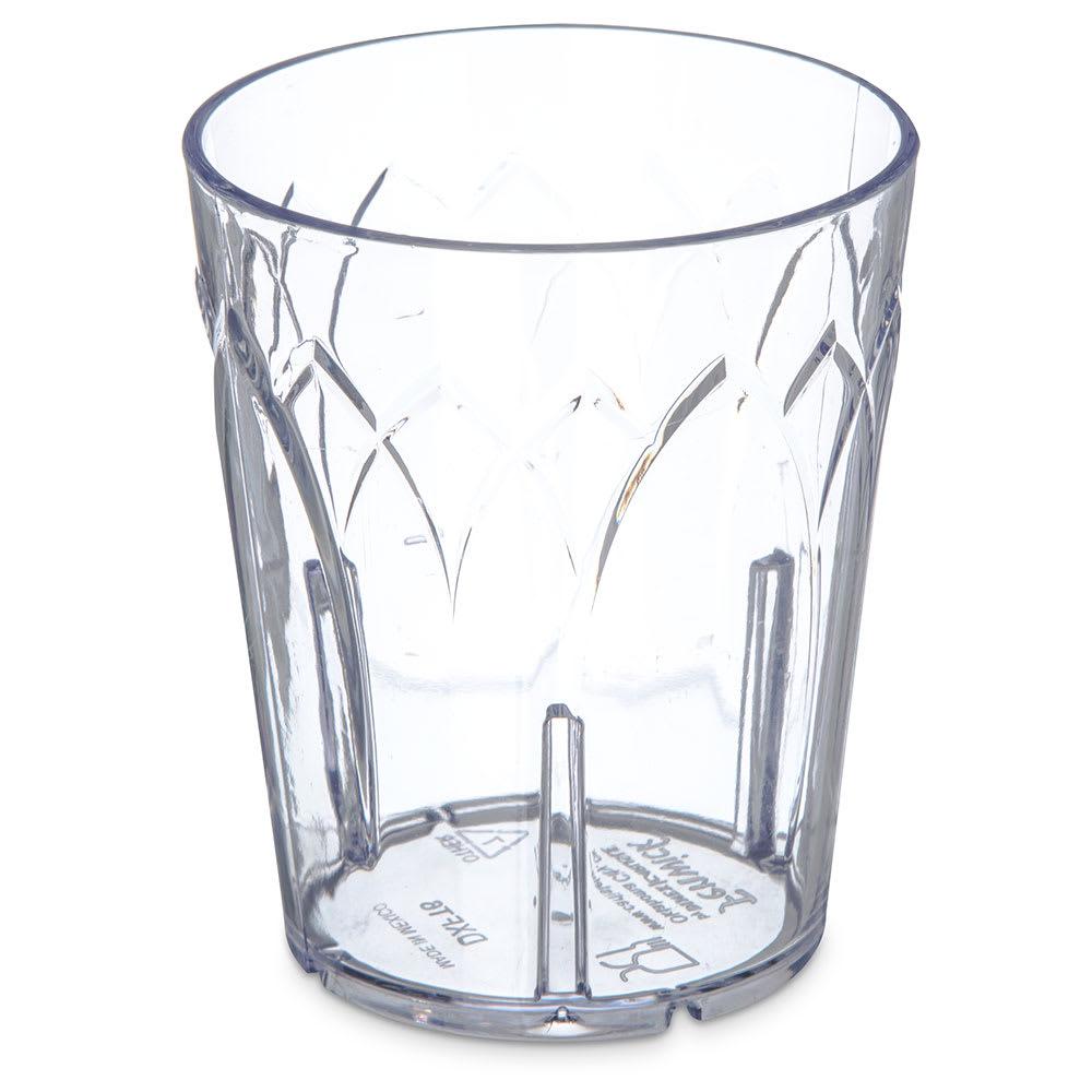 Dinex DXFT6-07 6 oz Tumbler, Clear Plastic