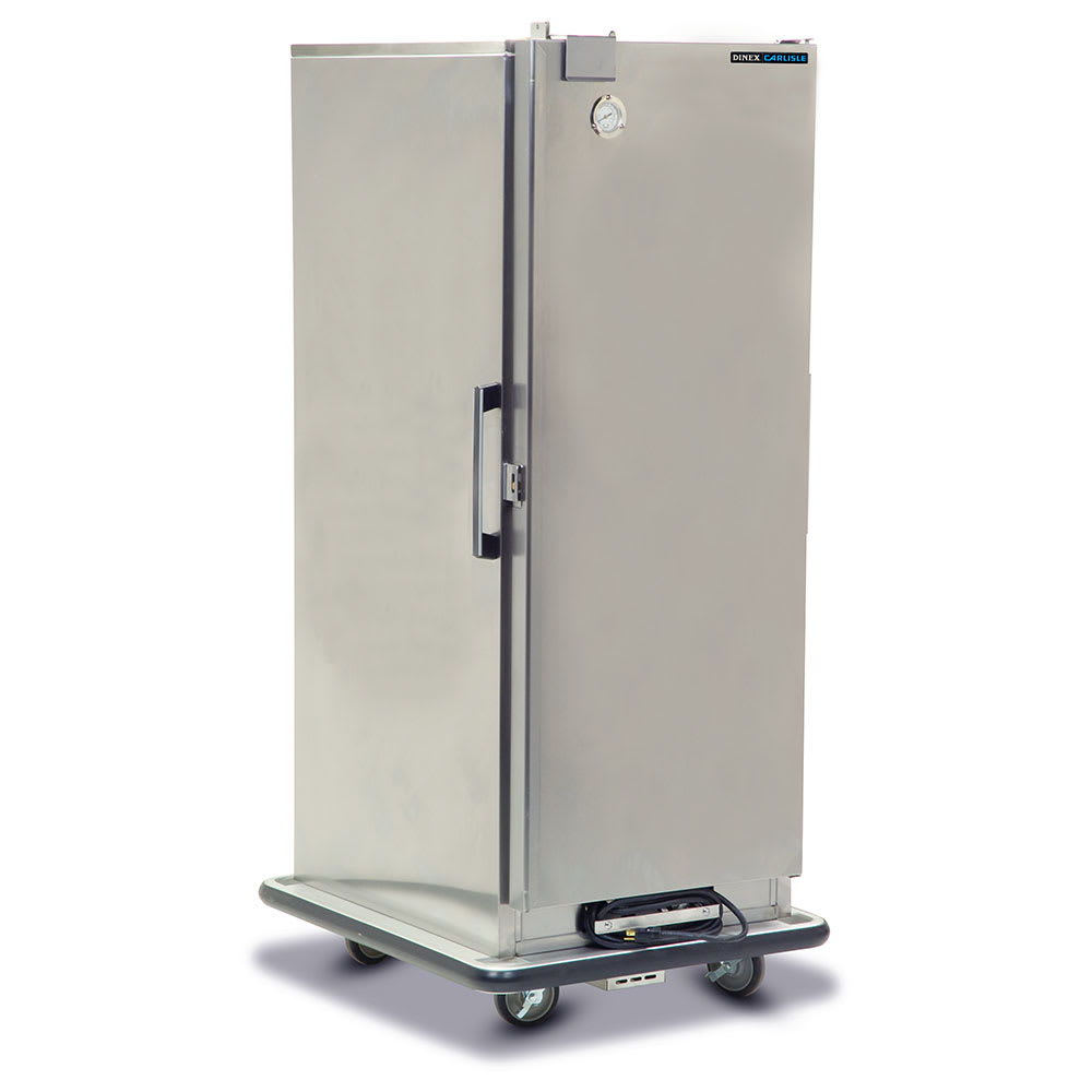 Dinex DXHC20 3/4 Height Insulated Mobile Heated Cabinet w/ (12) Pan Capacity, 120v