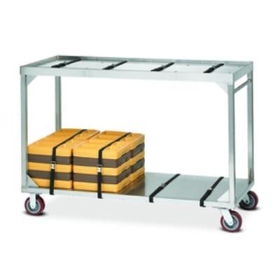 Dinex DXICSTSU24 Tray Cart w/ 24-Tray Capacity