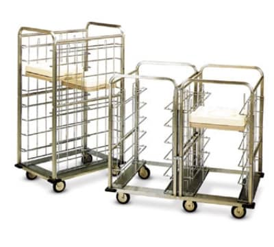 Dinex DXICSUG24 24-Tray Ambient Meal Delivery Cart