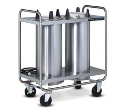 "Dinex DXIDP3O0912 9 1/8"" Open Tube Plate Dispenser w/ 150 Plate Or 108 Bowl Capacity"