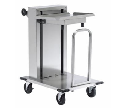 """Dinex DXIDT1C1418 Mobile Cantilever Tray Dispenser w/ 150-Tray Capacity, 14 x 18"""""""